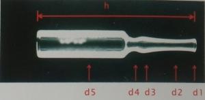 药瓶尺寸测量