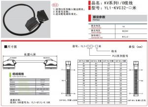 KEYENCE基恩士KV系列IO缆线